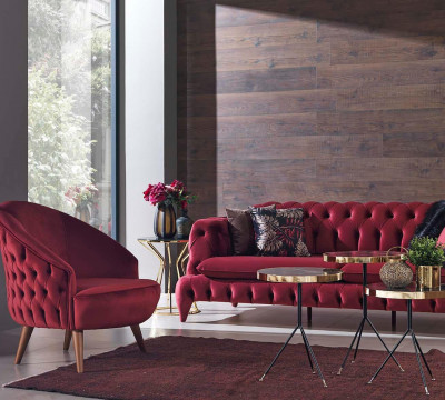 Orkide Sofa Set